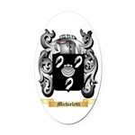 Michieletti Oval Car Magnet