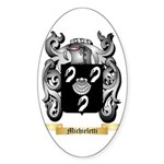 Michieletti Sticker (Oval)