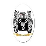 Michielazzo 20x12 Oval Wall Decal