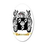 Michielazzo 35x21 Oval Wall Decal