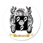 Michie Round Car Magnet