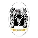 Michie Sticker (Oval 10 pk)