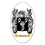 Michetti Sticker (Oval 50 pk)