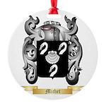 Michet Round Ornament