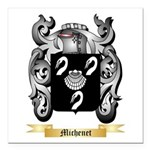 Michenet Square Car Magnet 3