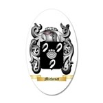 Michenet 20x12 Oval Wall Decal