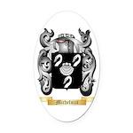 Micheluzzi Oval Car Magnet