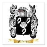 Micheluzzi Square Car Magnet 3
