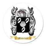 Micheluzzi Round Car Magnet