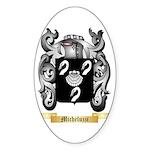 Micheluzzi Sticker (Oval)