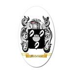 Micheluzzi 35x21 Oval Wall Decal