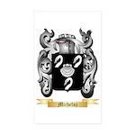 Micheluz Sticker (Rectangle 50 pk)
