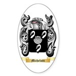 Michelutti Sticker (Oval)