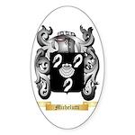 Michelutti Sticker (Oval 10 pk)