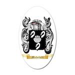 Michelutti 20x12 Oval Wall Decal