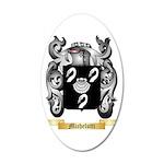Michelutti 35x21 Oval Wall Decal