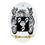 Michelutti Oval Ornament