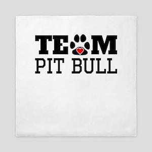Team Pit Bull Queen Duvet