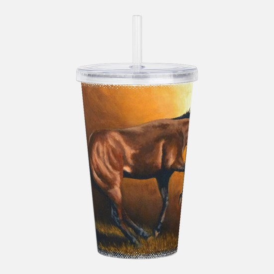 On Fire. Acrylic Double-wall Tumbler