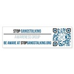 Gangstalking Awareness Bumper Sticker (50 Pk)