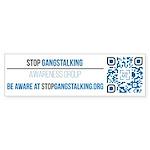 Gangstalking Awareness Bumper Sticker (10 Pk)