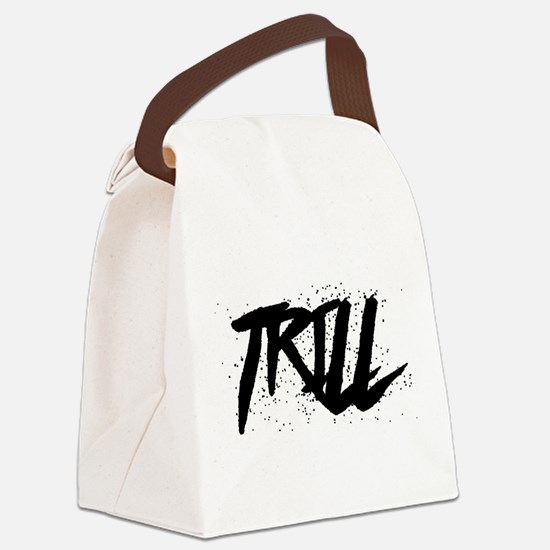 Trill Canvas Lunch Bag