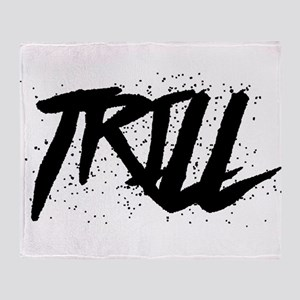 Trill Throw Blanket