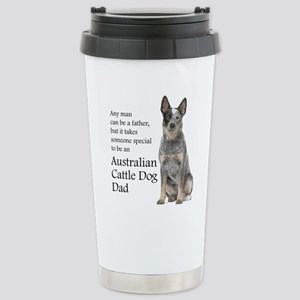 Cattle Dog Dad Travel Mug