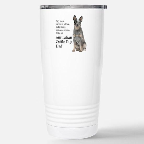 Cattle Dog Dad Travel Mug