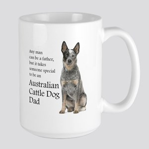 Cattle Dog Dad Mugs