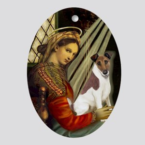Madonna-Fox T (B) Oval Ornament