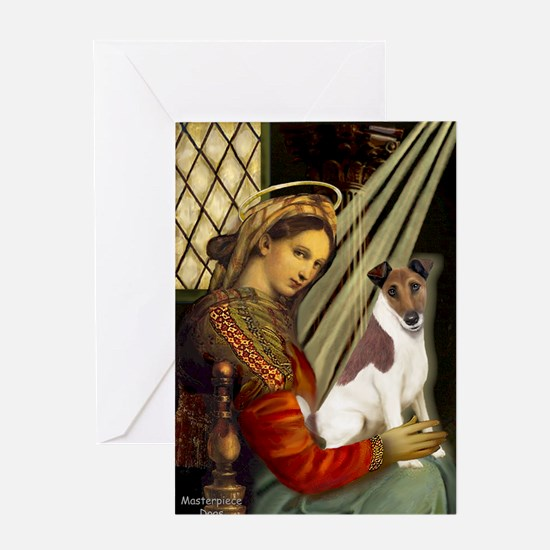 Madonna-Fox T (B) Greeting Card