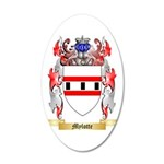 Mylotte 35x21 Oval Wall Decal