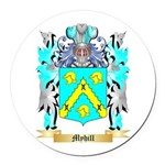 Myhill Round Car Magnet