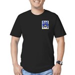Muzzullo Men's Fitted T-Shirt (dark)