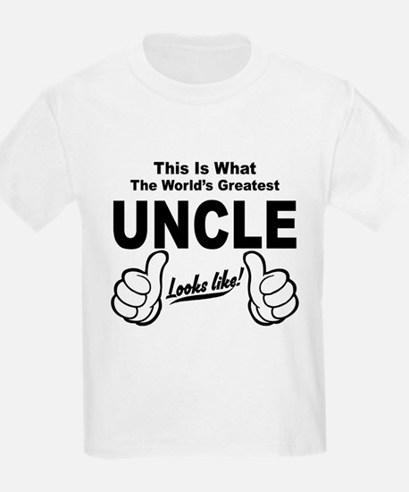 Worlds Greatest Uncle Looks Like T-Shirt
