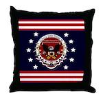 President Trump Throw Pillow