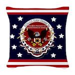 President Trump Woven Throw Pillow