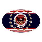 President Trump Sticker (Oval)