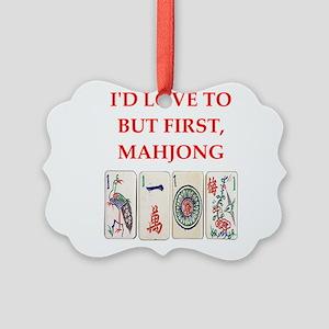 mahjong joke Ornament