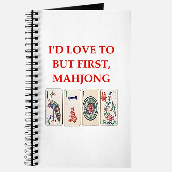 mahjong joke Journal