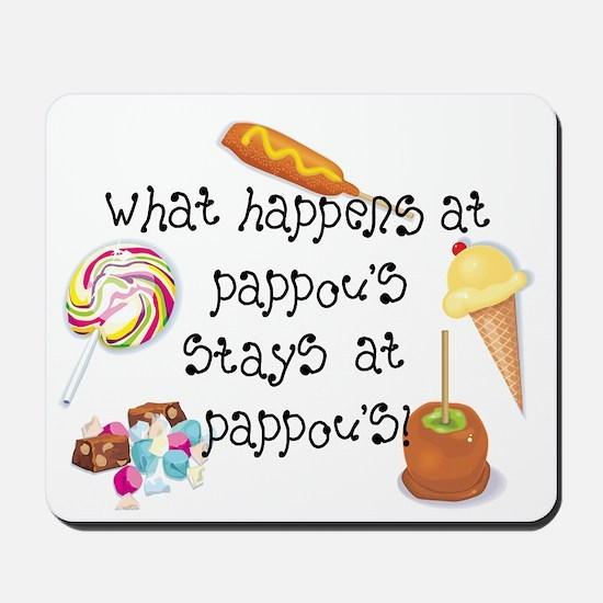 What Happens at Pappou's... Mousepad