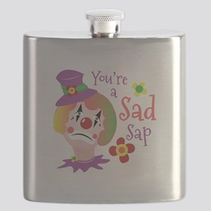 A Sad Sap Flask