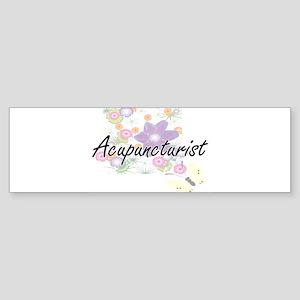 Acupuncturist Artistic Job Design w Bumper Sticker