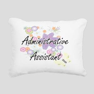 Administrative Assistant Rectangular Canvas Pillow