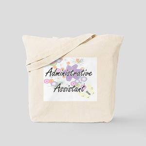 Administrative Assistant Artistic Job Des Tote Bag