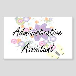 Administrative Assistant Artistic Job Desi Sticker