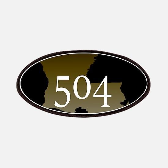 NOLA 504 Louisiana Patch