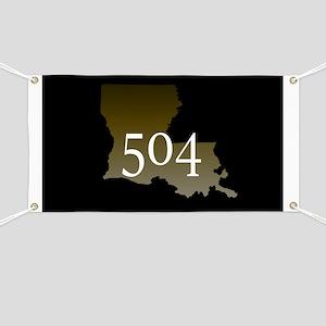 NOLA 504 Louisiana Banner