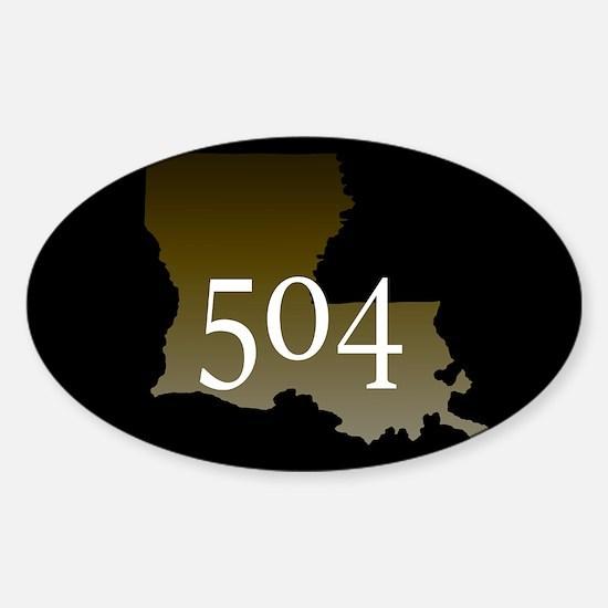 NOLA 504 Louisiana Decal